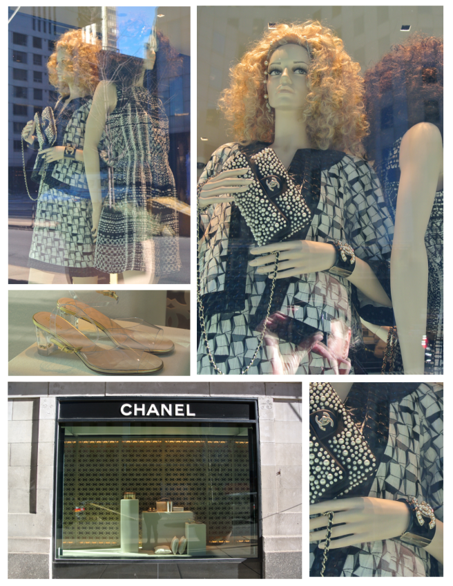 Winter Fashion Embellishments  Behind The Windows Of Chanel