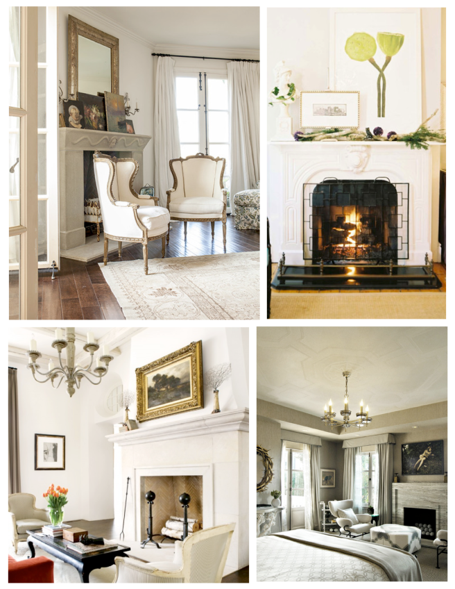 A Timeless Warming Trend Within The Interior:  The Fireplace