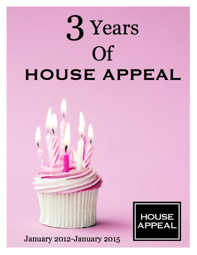 3 Years Of House Appeal