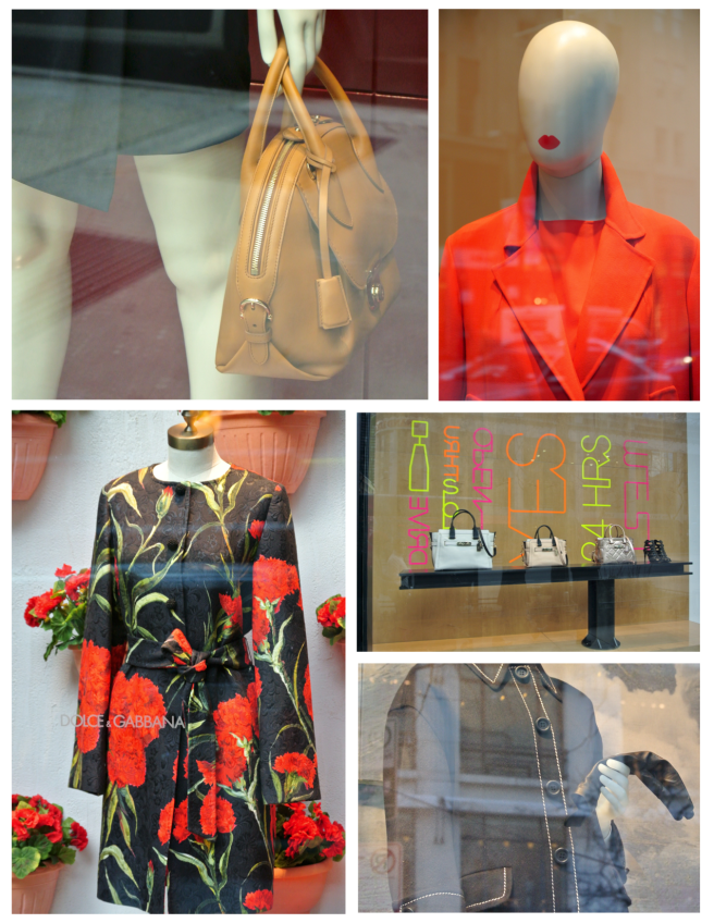 Vivid Impressions Behind The Glass Panes Of Fashion