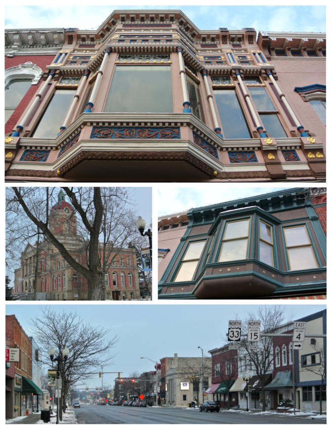 Details Of Architectural Delight:  Goshen, Indiana