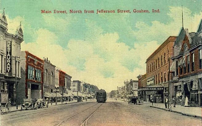 Vintage Appeal:  Goshen, Indiana