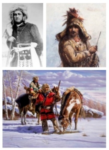 Historied Fur Trappers