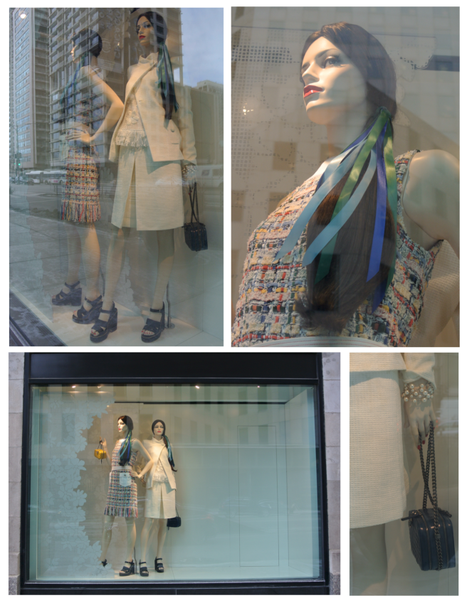 Chanel's Fashionable Windows In February