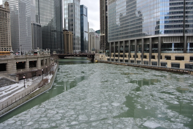 Behind My Lens:  Frozen Chicago/February 2015