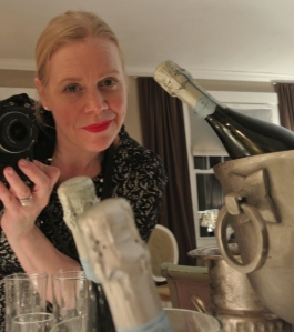 "Myself, Capturing The Moment Of Bubbly Bliss:  Our ""Sparkling Soirée"""