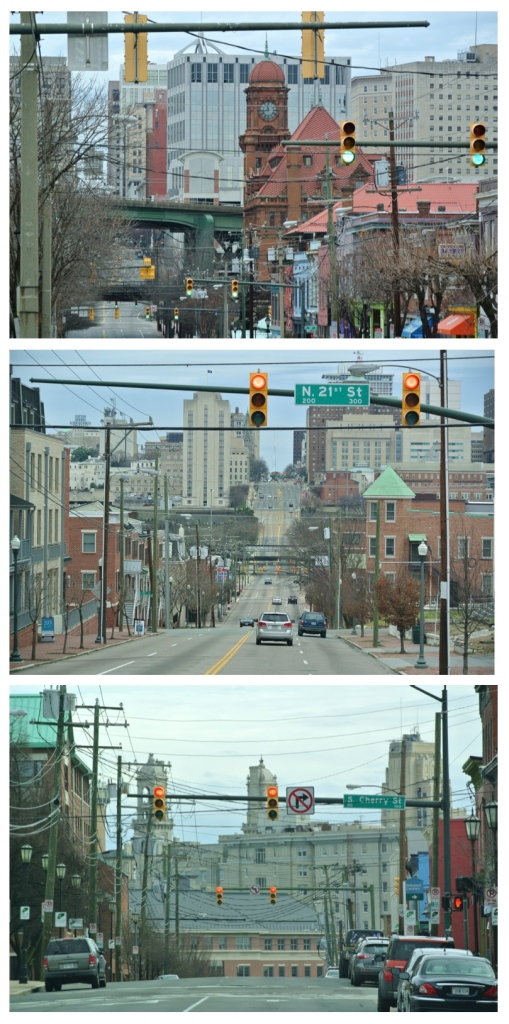 City Street Scenes:  The Hills &; Architecture Of Richmond, Virginia