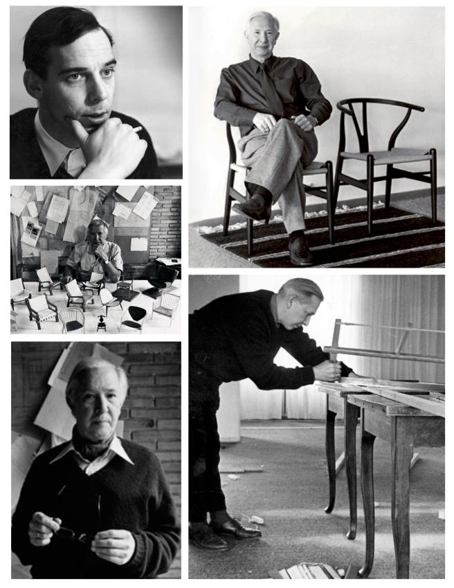 Hans J. Wegner ( 1914-2007)   ) Danish Designer/ Carl  Hansen & Søn