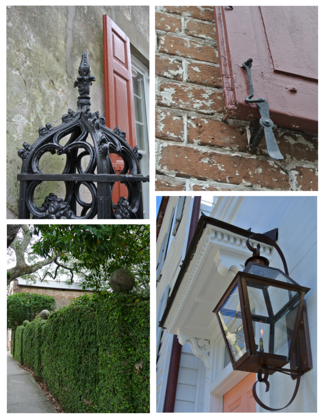 Visual Elements Of Historical Charleston, South Carolina