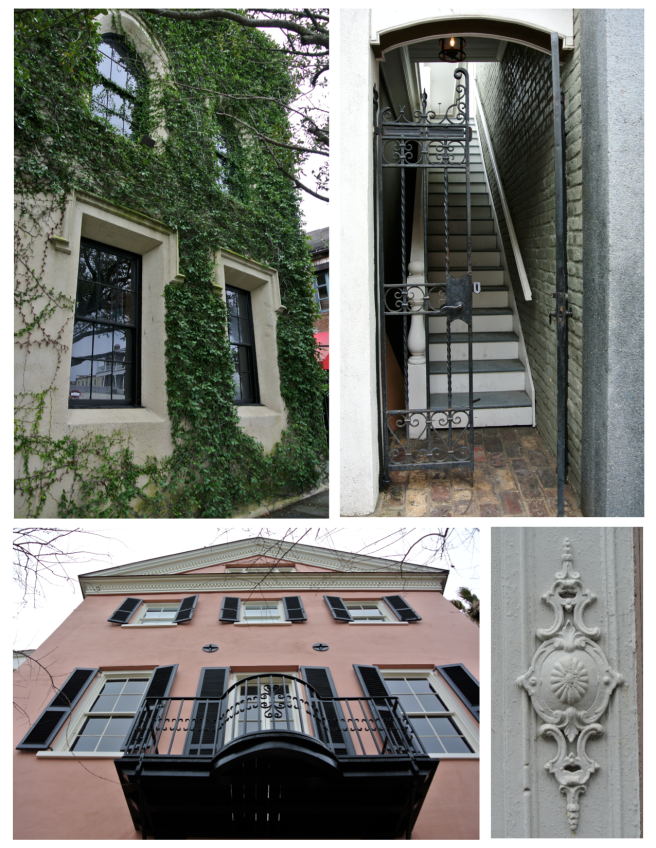 Visual Interest Of Southern Style:  Charleston, South Carolina