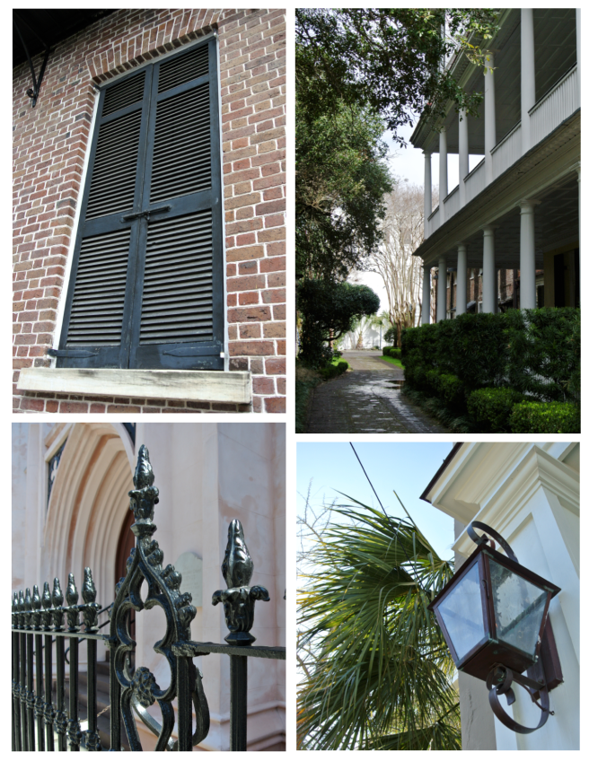 Architectural Features Of Iconic Style:  Charleston, South Carolina