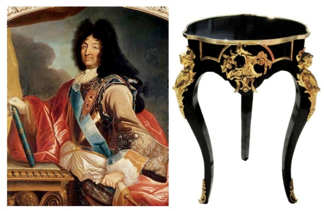 Louis XIV of France (1643-1715) &  The GUÉRIDON Table In The Style Of Louis XIV