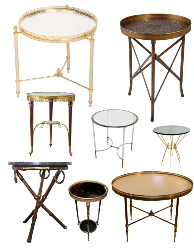The Guéridon Table: French Appeal