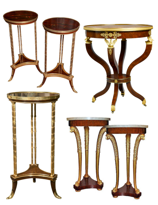 The Guéridon Table:  Forms Of Function & Display