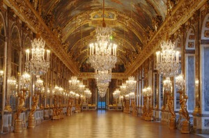 """Hall Of Mirrors"" At Versailles/France"