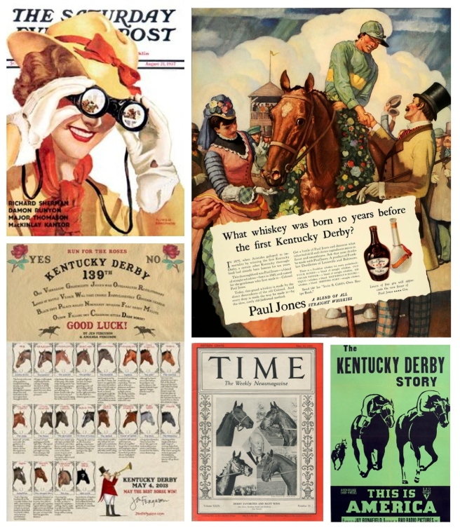 Vintage Acknowledgements:  The Kentucky Derby
