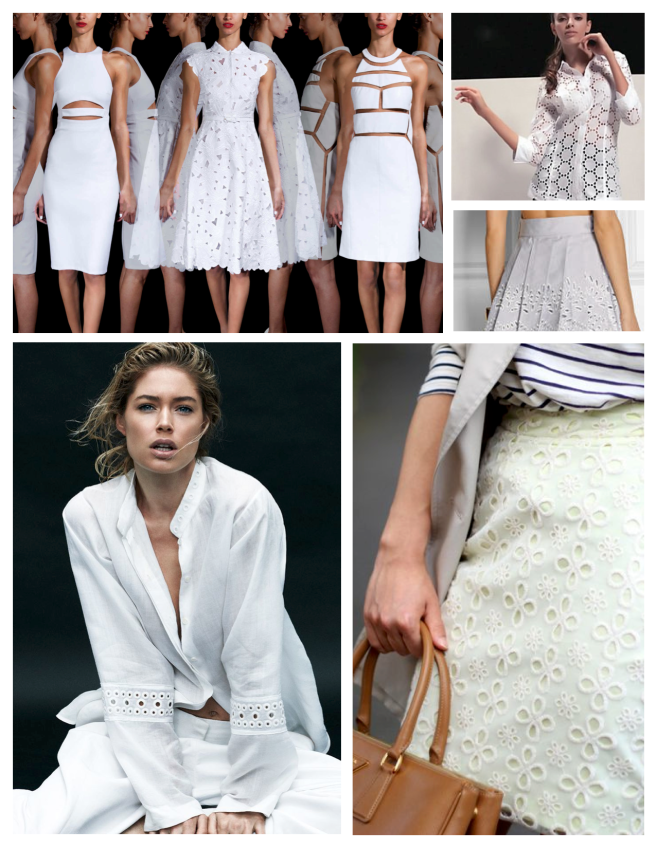 Eyelet Delight:  Fashion's Classic Interpreted