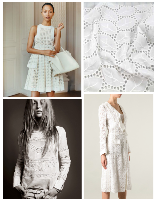 Details In White Eyelet:  Fashion's Classic Reinvention