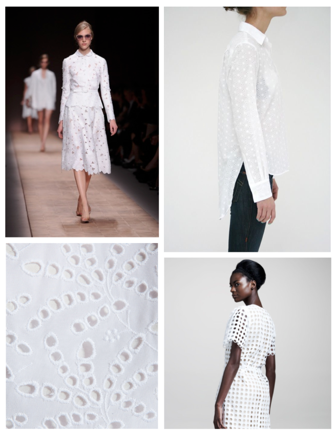 Versatile Fabric Of Enduring Appeal:  White Eyelet