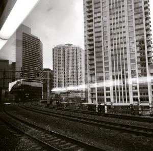 Approaching Ogilvie Train Station, Chicago