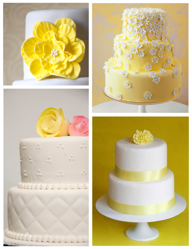 Celebratory, Sunny Appeal In Sugar:  Fondant Cakes