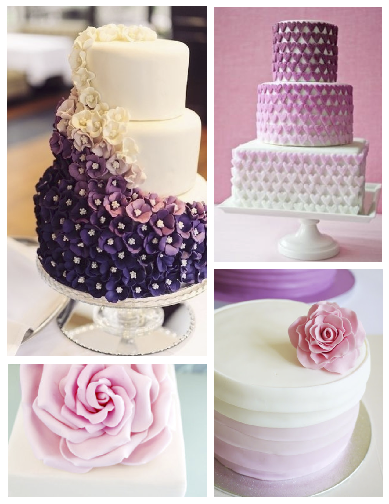 Wrapped Decorated Perfection Fondant Cakes