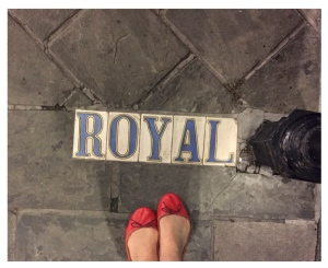 My Feet Upon The Streets Of New Orleans...2015