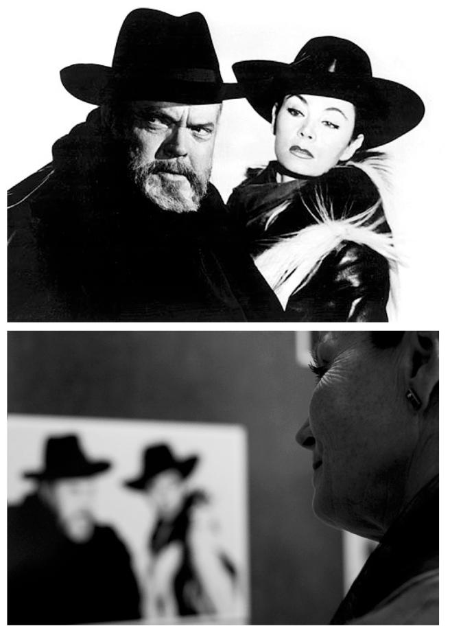 Iconic Images:  Orson Welles & Oja Kodar