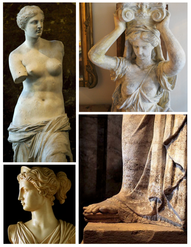 Caryatids:  The Female Form Of Enduring Appeal