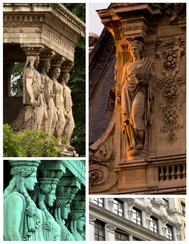 Caryatids In Architecture:  Form & Function