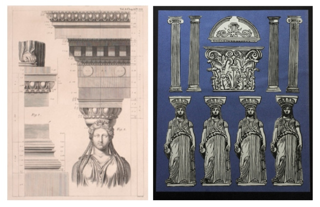 Caryatids In Ancient Architecture