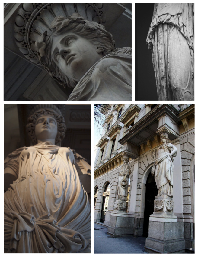 Caryatids:  Elements Of History & Form