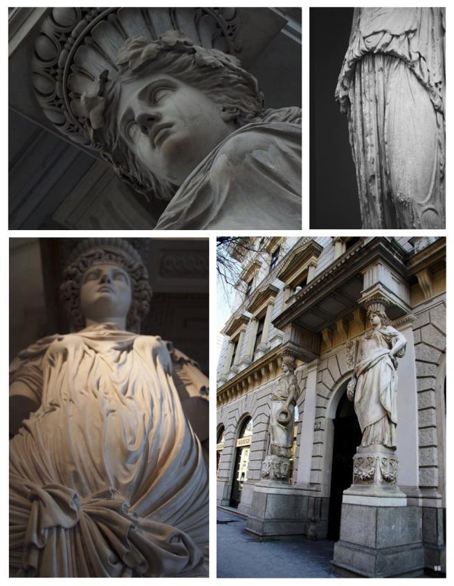 Caryatids:  Elements Of History & Form