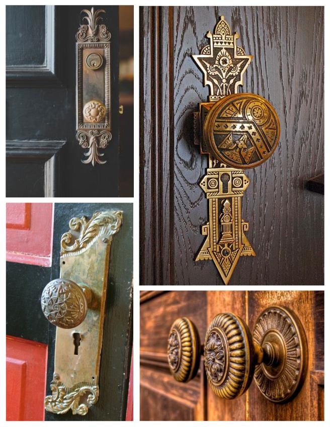 Vintage Elegance Of Artistic Form & Function:  Door Knobs
