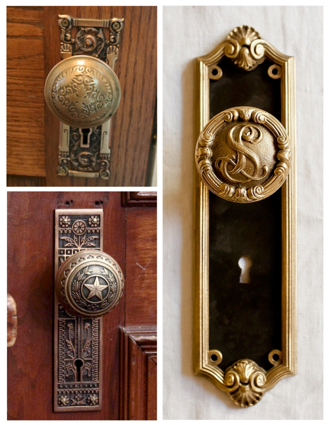 Architectural Delights:  The Elegance Of The Vintage Door Knob