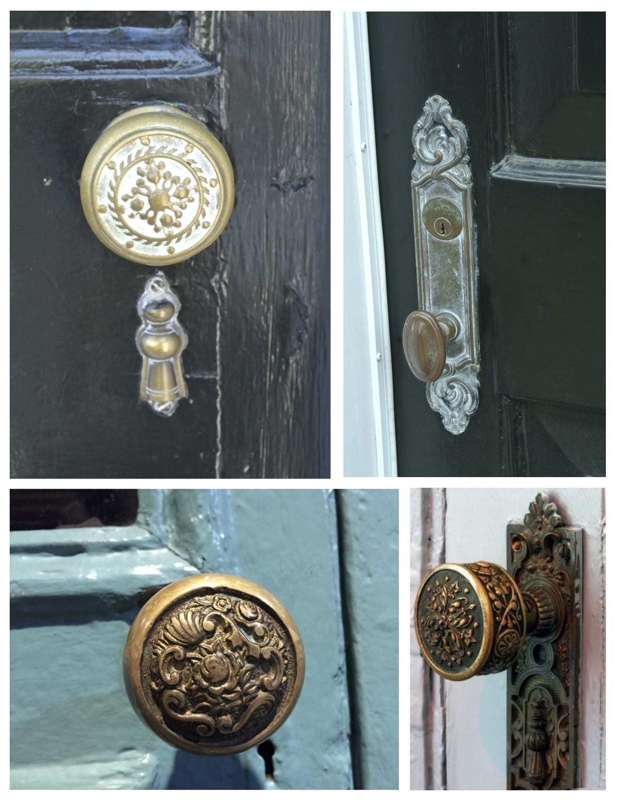 Details Of Past Elegance: The Vintage Door Knob - Form & Function Of Architectural Features: The Artistry Of Vintage