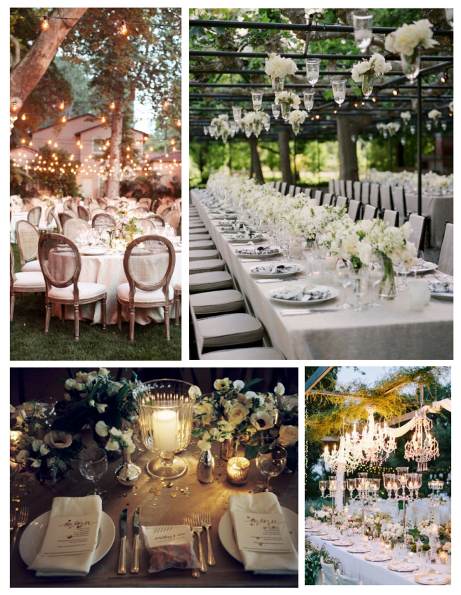 Outdoor Delights Of Wedded Celebrations