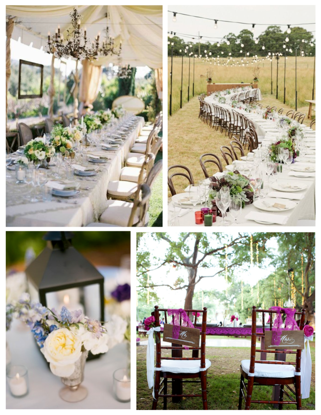 Outdoor Entertaining:  The Wedded  Outdoor Celebrations