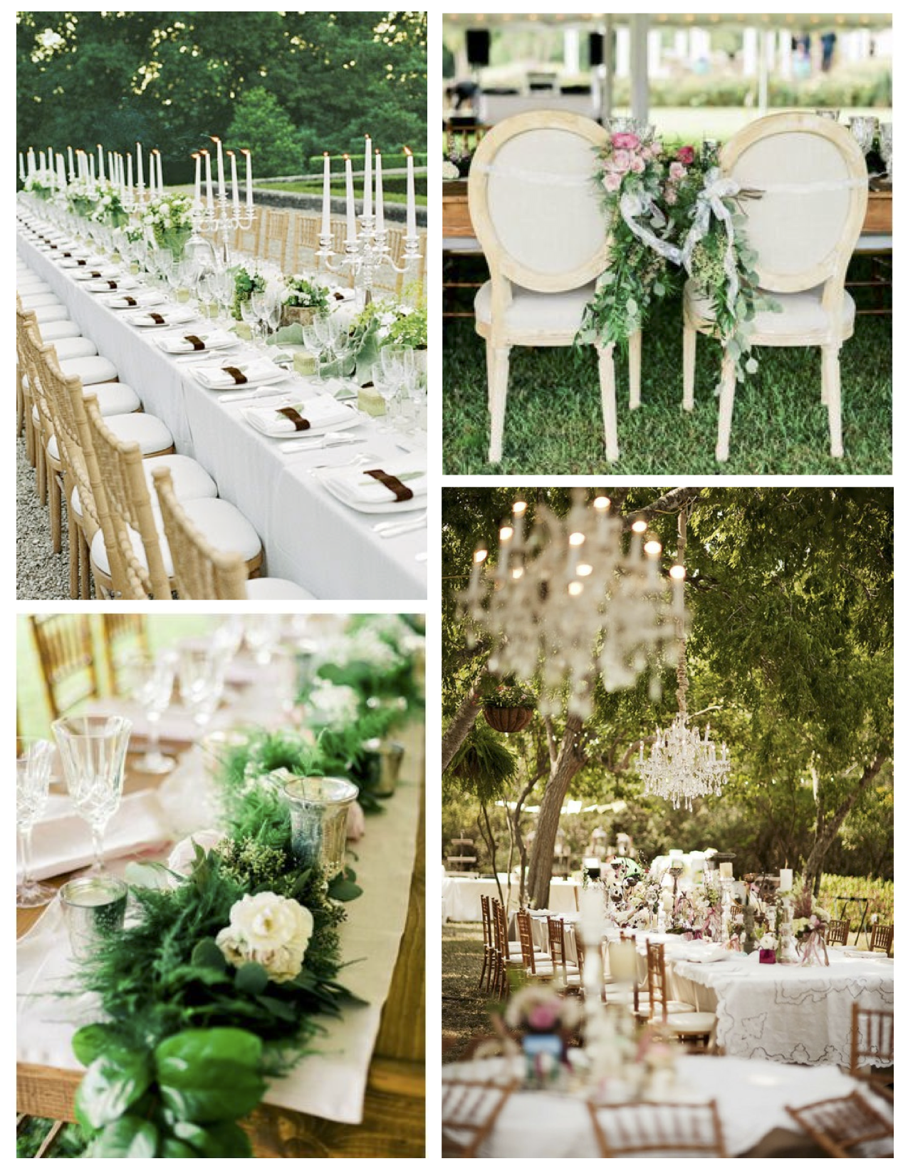 Wedded Bliss Under Natures Canopy The Outdoor Wedding Reception