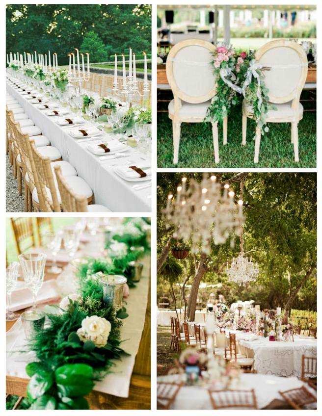 Breathtaking Delights Under Nature's Canopy:  Outdoor Wedding Receptions