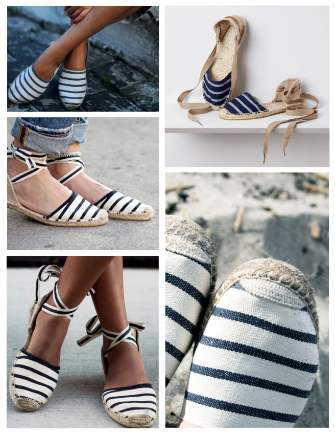 Breton Striped, Nautical Delight: Summer Espadrilles