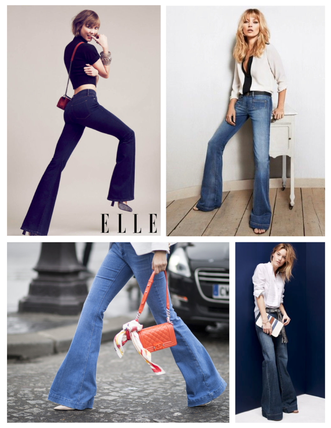 Wide Bottom Style Of Enduring Fashion:  Flares