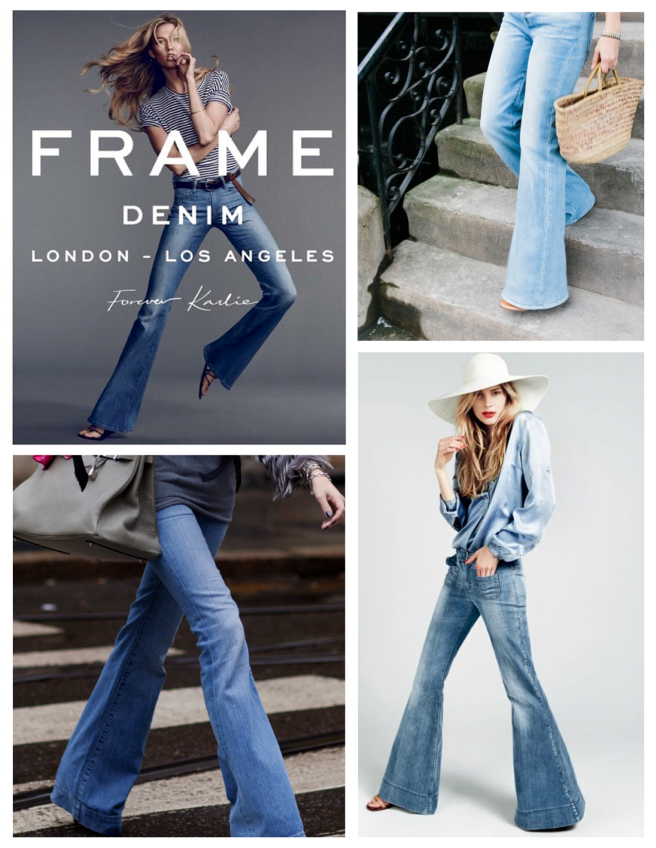 Denim Blues Of Wide Appeal:  The Flared  Jean