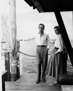 Key Largo (1948) Directed by John Huston Humphrey Bogart & Lauren Bacall