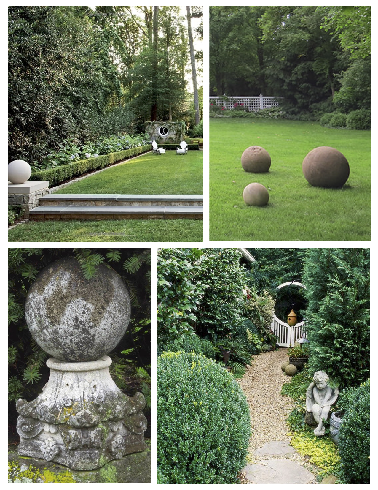 Landscape Impact Substantial Stone Spheres Of Bold Enchanting