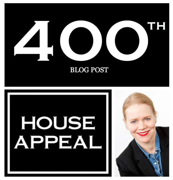 400th Blog Post:  House Appeal Blog/ 2012-2015