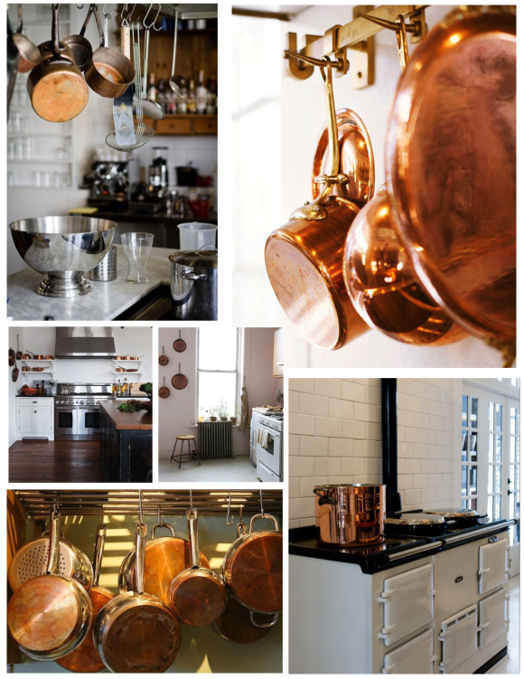 Culinary Flair:  The Coveted Copper Pot