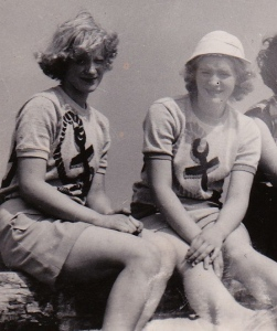 My Mother, Donna  & Her Sister/Circa 1952