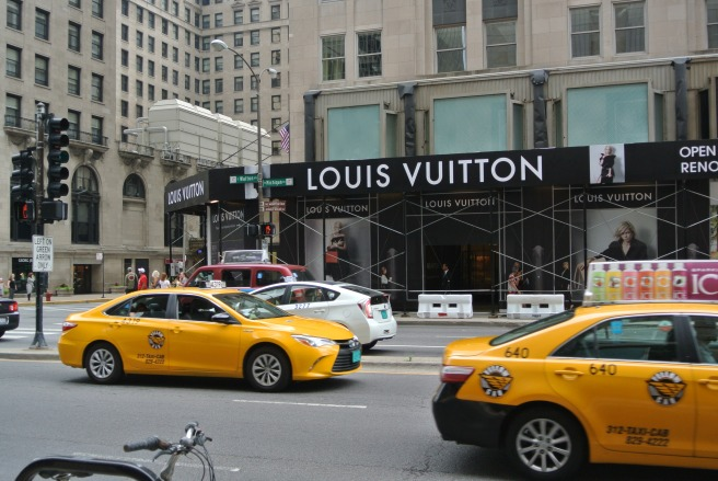 Fashionable Renovations:  Louis Vuitton/Michigan Ave/Chicago