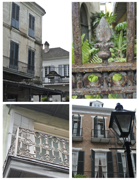 New Orleans, French Quarter:  A Visual Paradis Of Architectural Delights